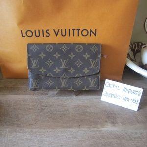 Monogram Canvas Pochette Rabat Clutch Bag